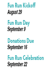 Fun Run Dates
