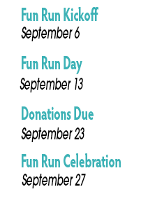 Fun Run Dates 2019